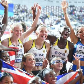 Gina Lückenkemper Staffel WM Doha 2019