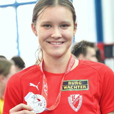 Marie Scheppan sprintet zu Silber über 400 Meter