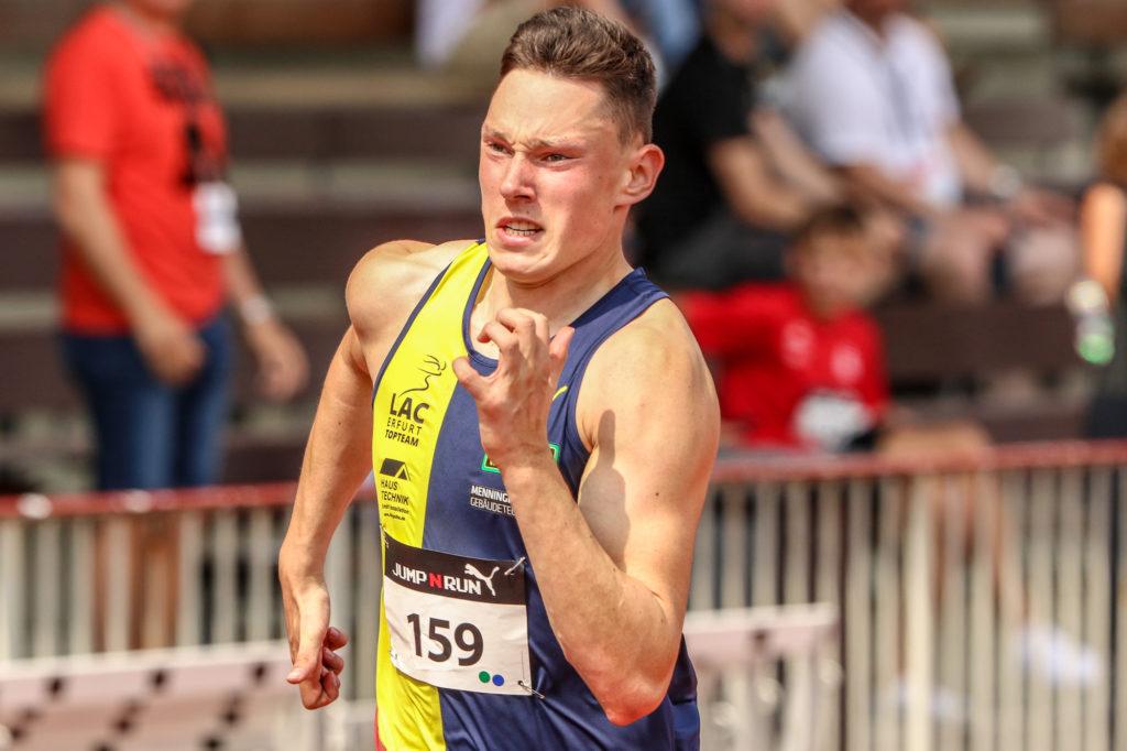 Sprinter Luis Brandner