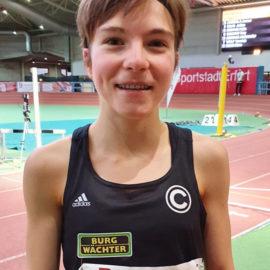 Blanka Dörfel (SCC Berlin) vom Trackteam Burg-Wächter