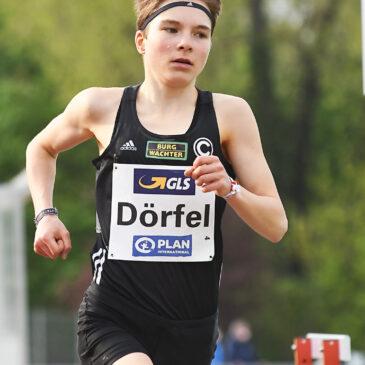 Bestzeit für Blanka Dörfel, gute Rennen von Sina Kammerschmitt
