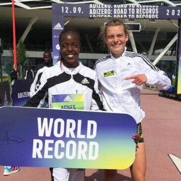 Herzogenaurach: Schnelles Comeback von Alina Reh im Weltrekordrennen