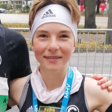 Halbmarathon-DM: Blanka Dörfel krönt Gold mit deutscher U20-Bestleistung
